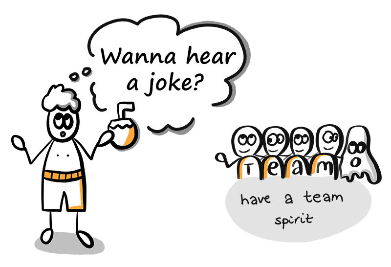 Why it is good to tell jokes at work?